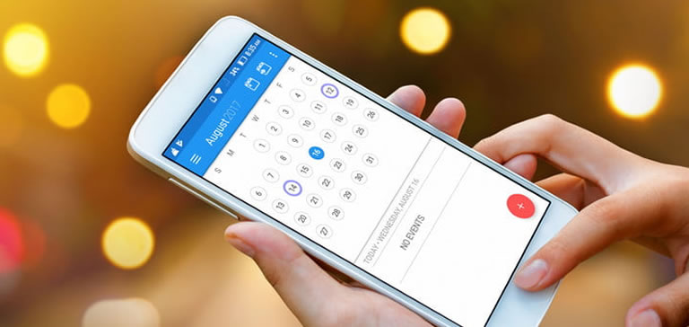 Trinetra iWay is now integrated with Mobile Calendar for Quick Scheduling and Notification on Tasks
