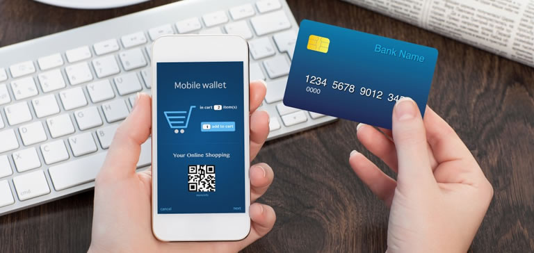 Trinetra iWay offers different payment modes in the mobile app