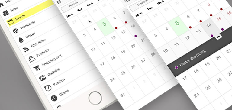 Trinetra iWay with improved Calendar Module