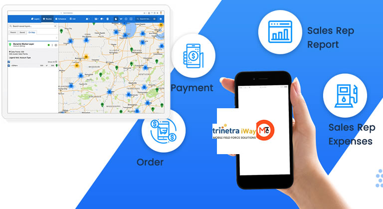 Field Sales/ Service Professionals can beat the competition with Trinetra iway