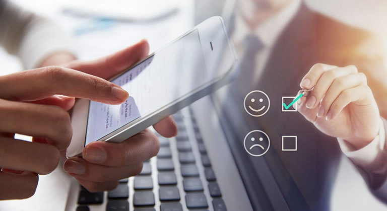 Real time commitment in initializing and completing service tickets increases customer satisfaction by 90%