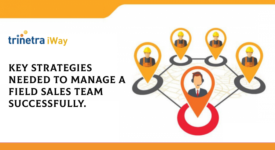Key strategies needed to manage a field sales team successfully